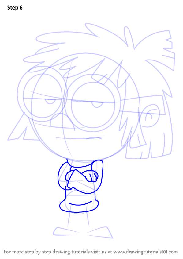 598x844 Learn How To Draw Lisa Loud From The Loud House (The Loud House