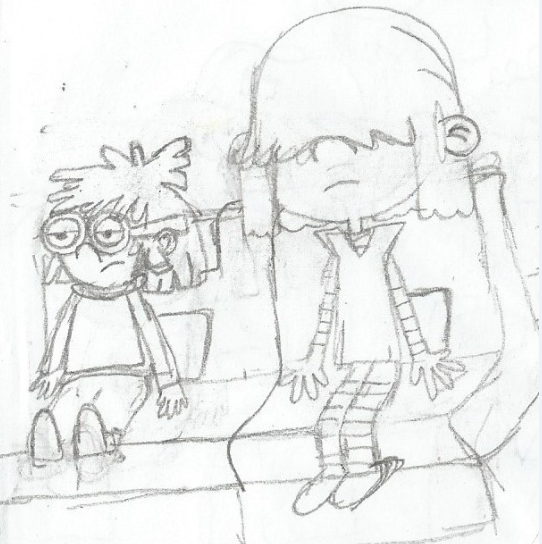 542x544 Lucy And Lisa Loud By Willm3luvtrains