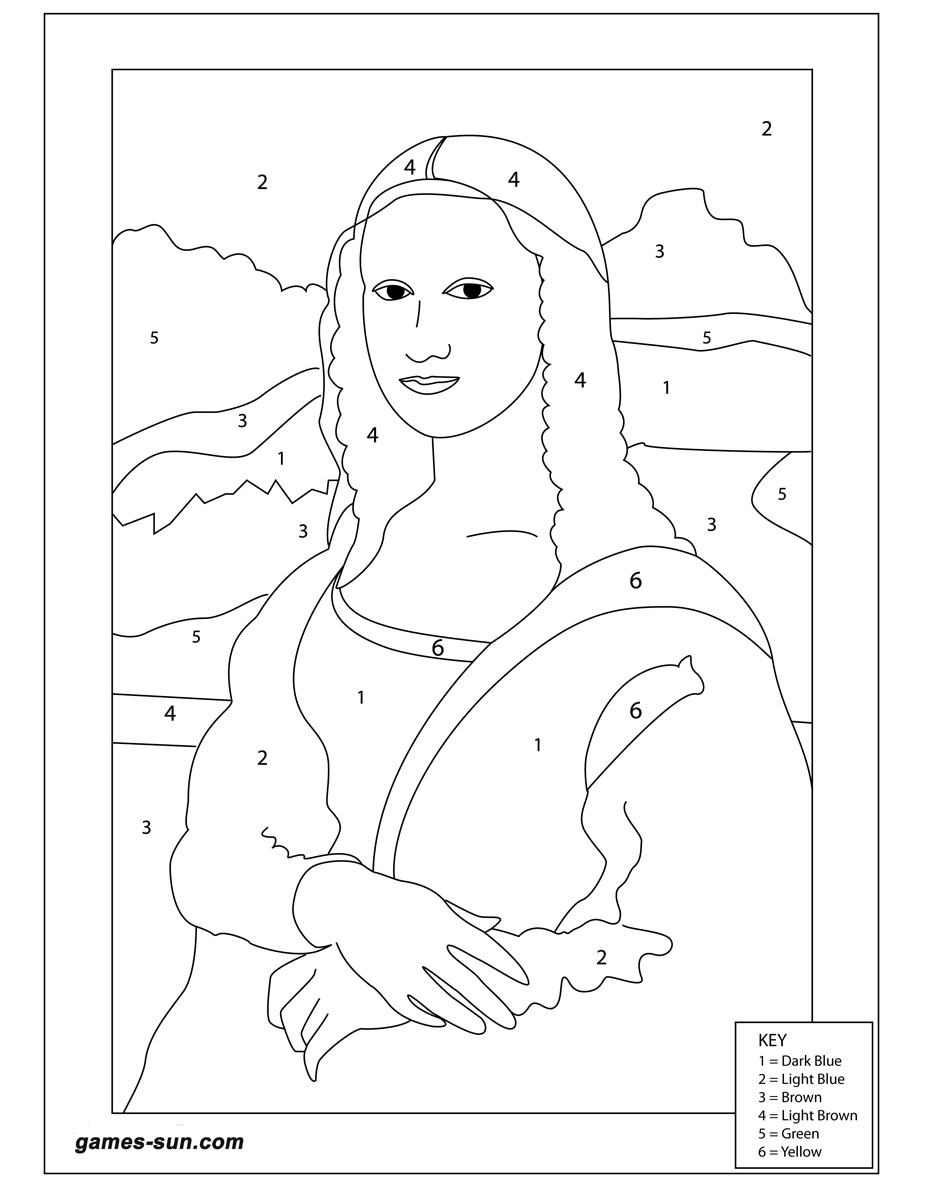 927x1200 Simple Excellent Mona Lisa Outline Drawings With