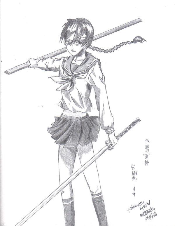 600x774 Yadomaru Lisa By Kitsuneran