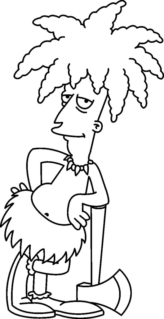 Lisa Simpson Drawing