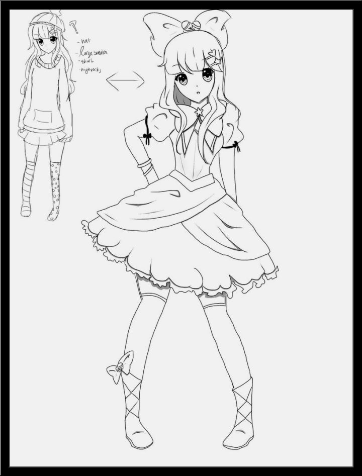 720x947 Drawing Ideas Anime That You Need To Have