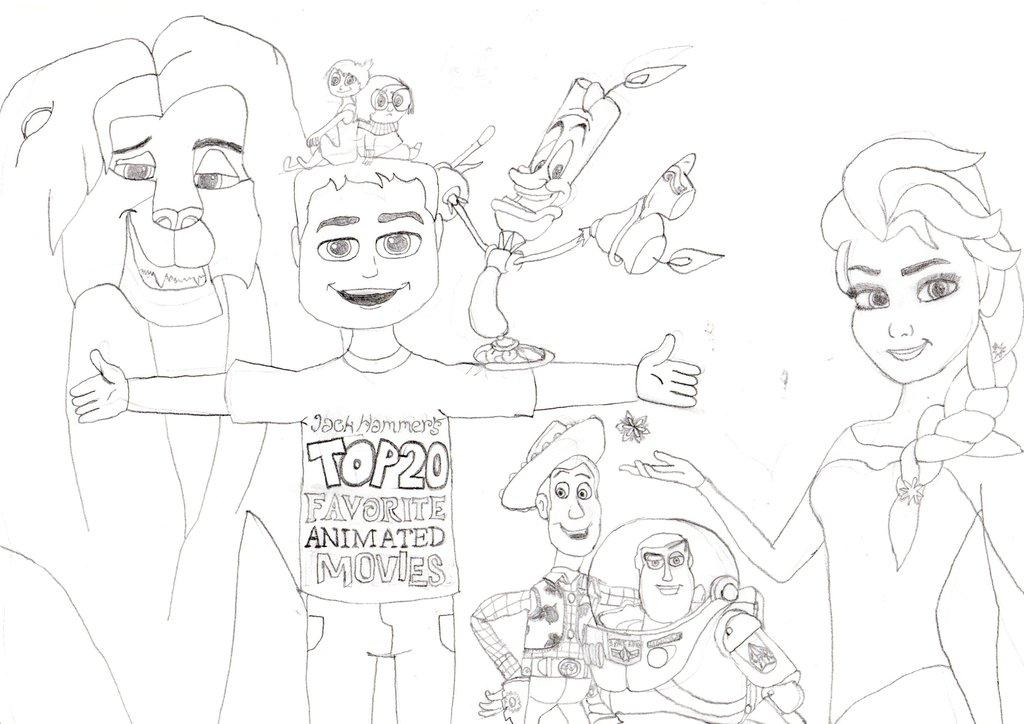 1024x724 My Top 20 List Drawing (Sneak Peek) By Jackhammer86