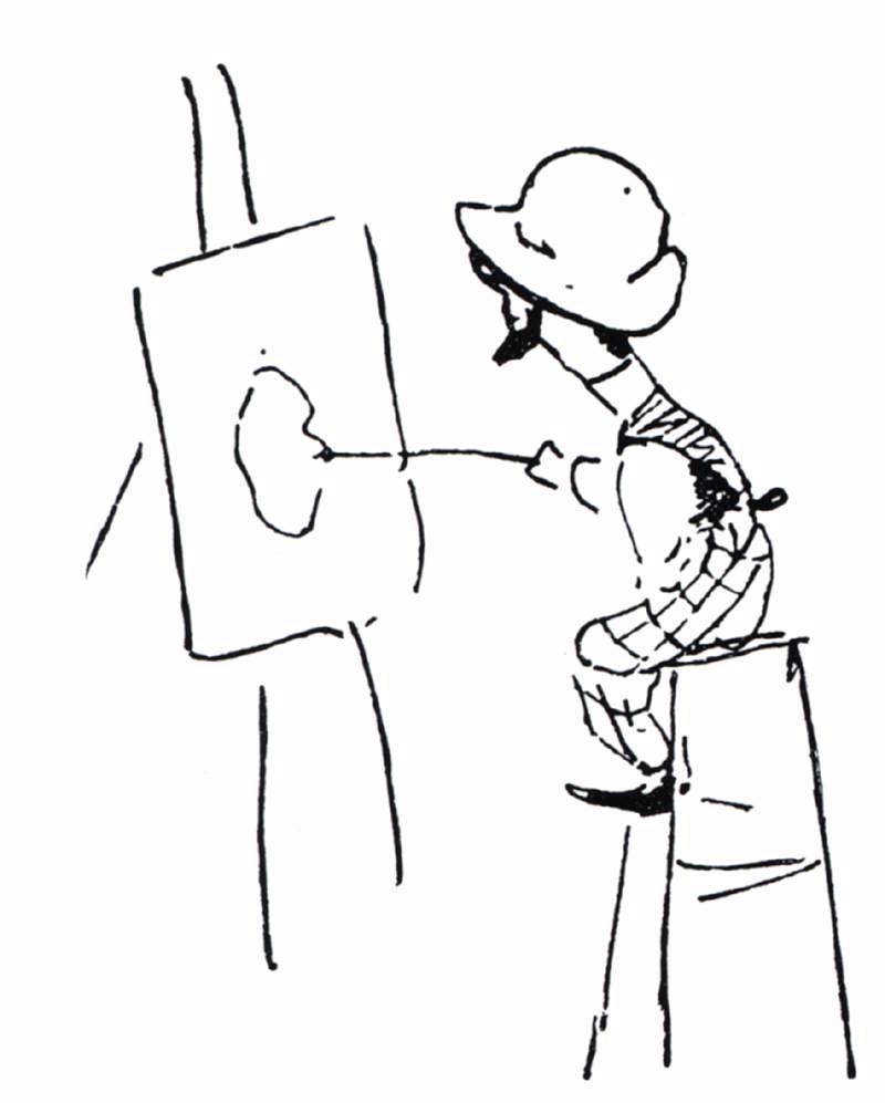 800x997 Toulouse Lautrec, Henri De Fine Arts, 19th C. The Red List