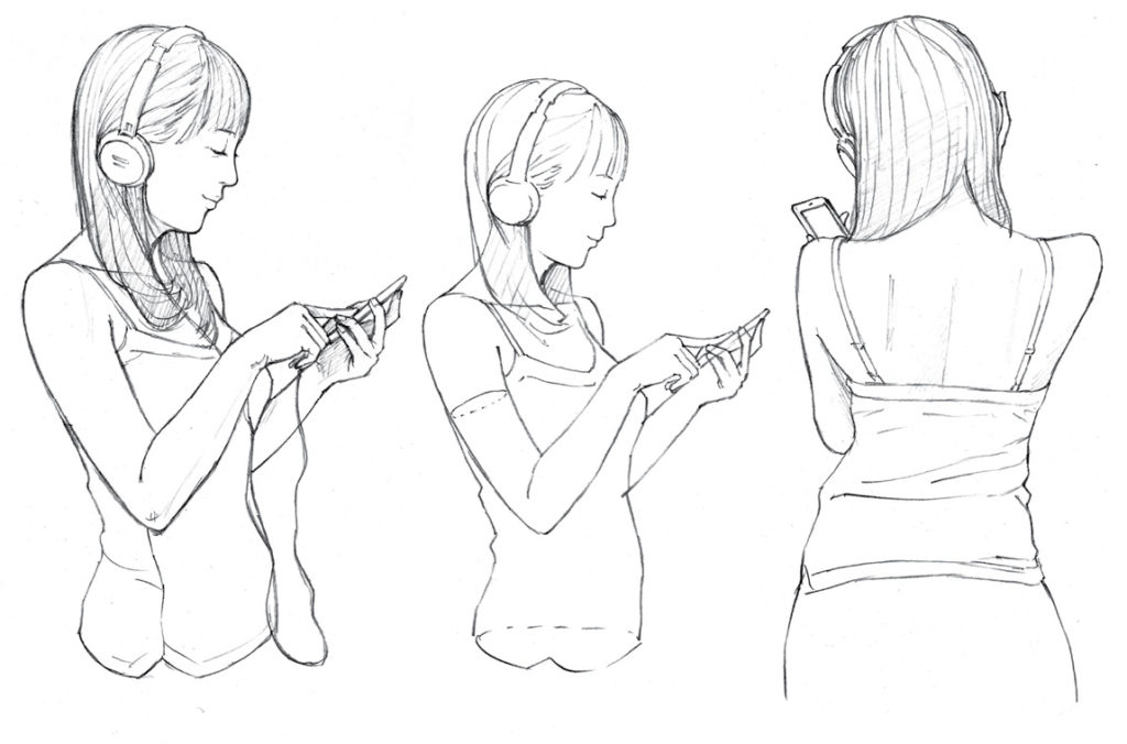 1024x676 Drawing Manga Poses Illustrating Common Scenarios