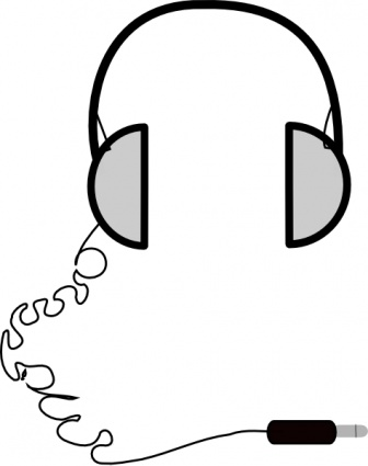 336x425 Headphone Clipart Music Listening