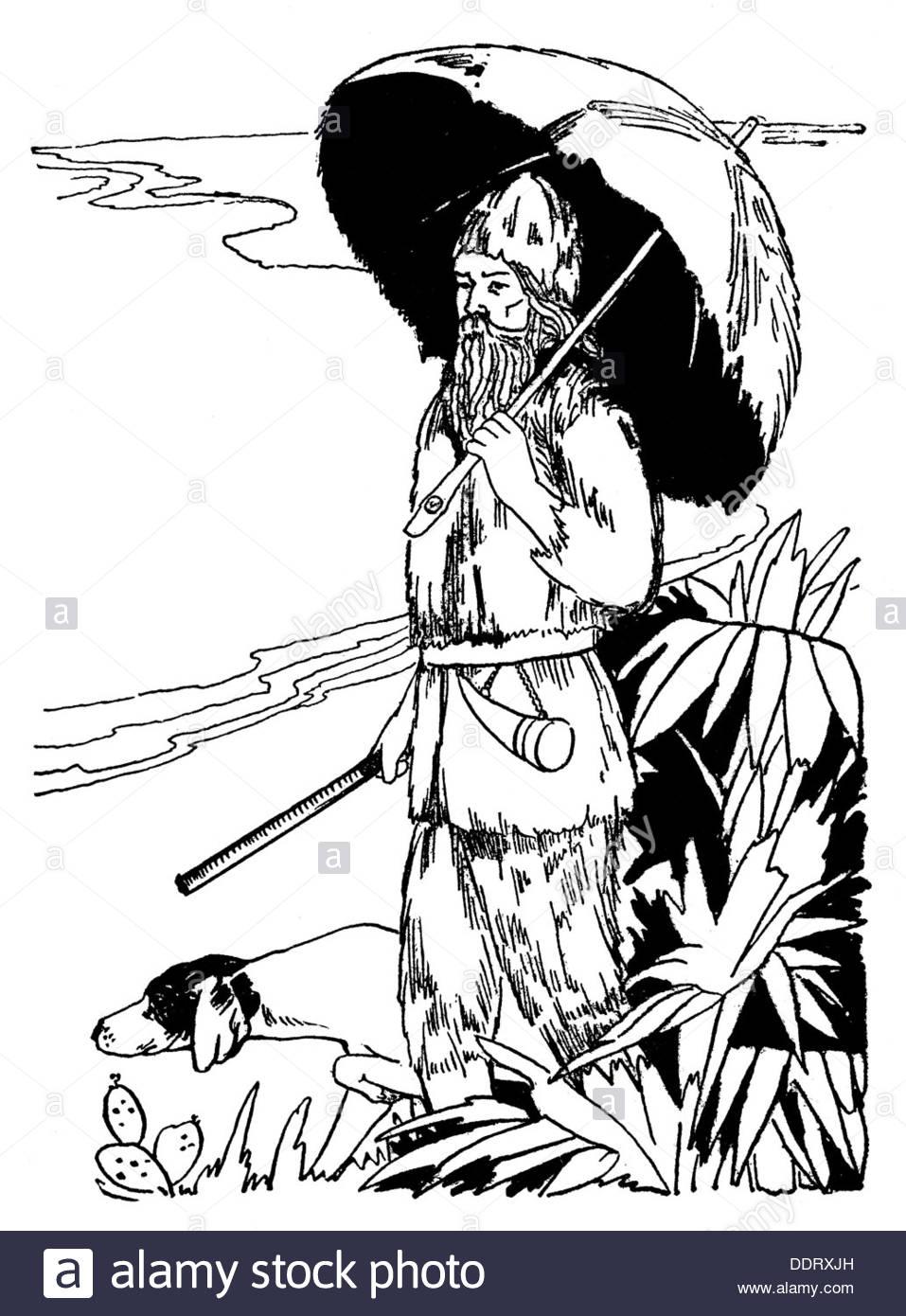 957x1390 Literature Robinson Crusoe By Daniel Defoe (1660