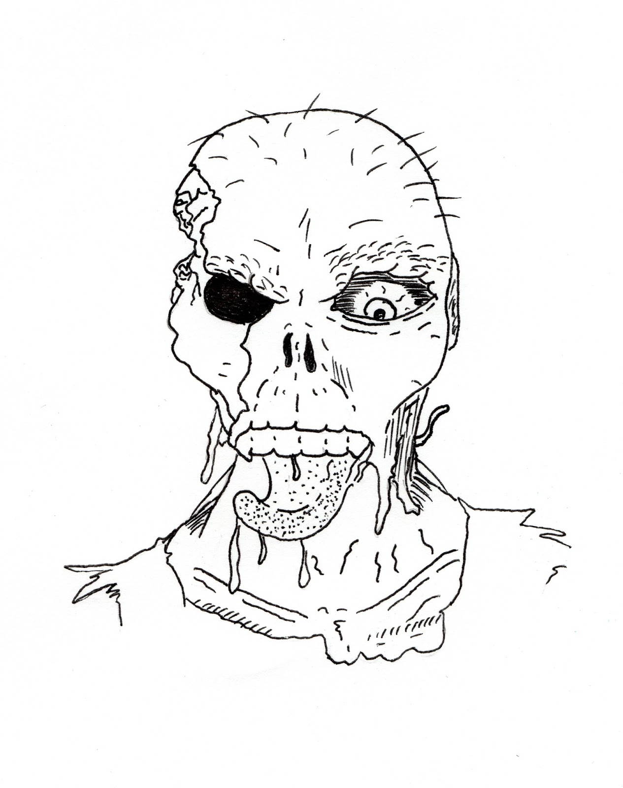 1265x1600 Jared Unzipped Draw Something Hungry Zombie