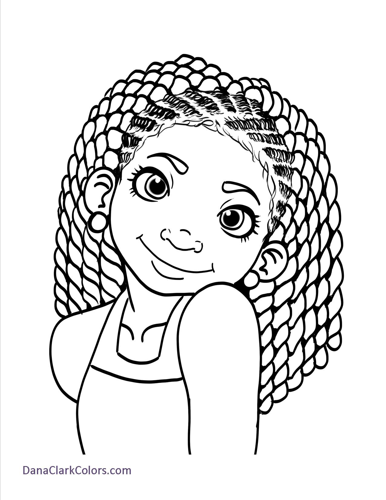 how to draw a little black girl
