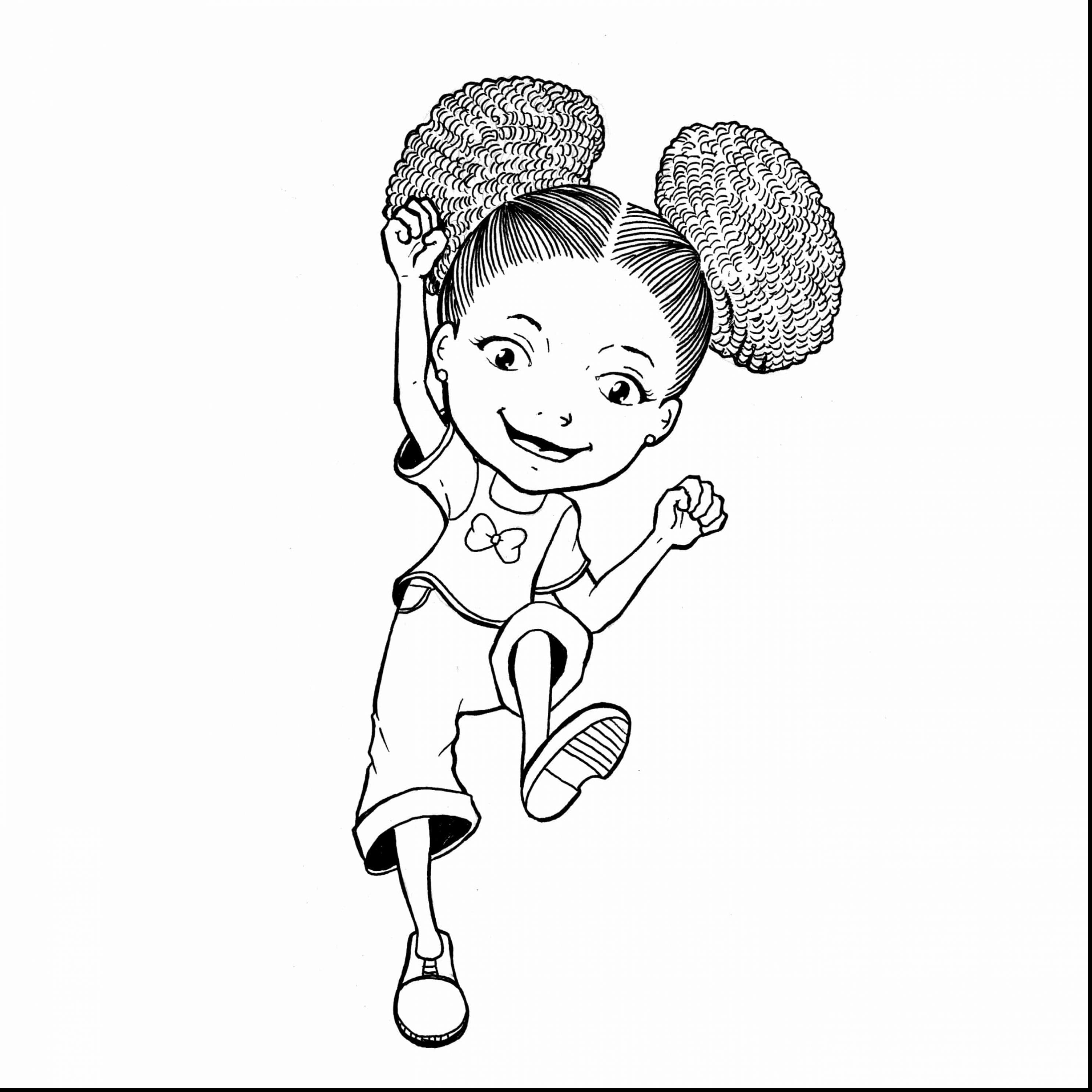 Little Black Girl Drawing at GetDrawings.com | Free for personal use ...