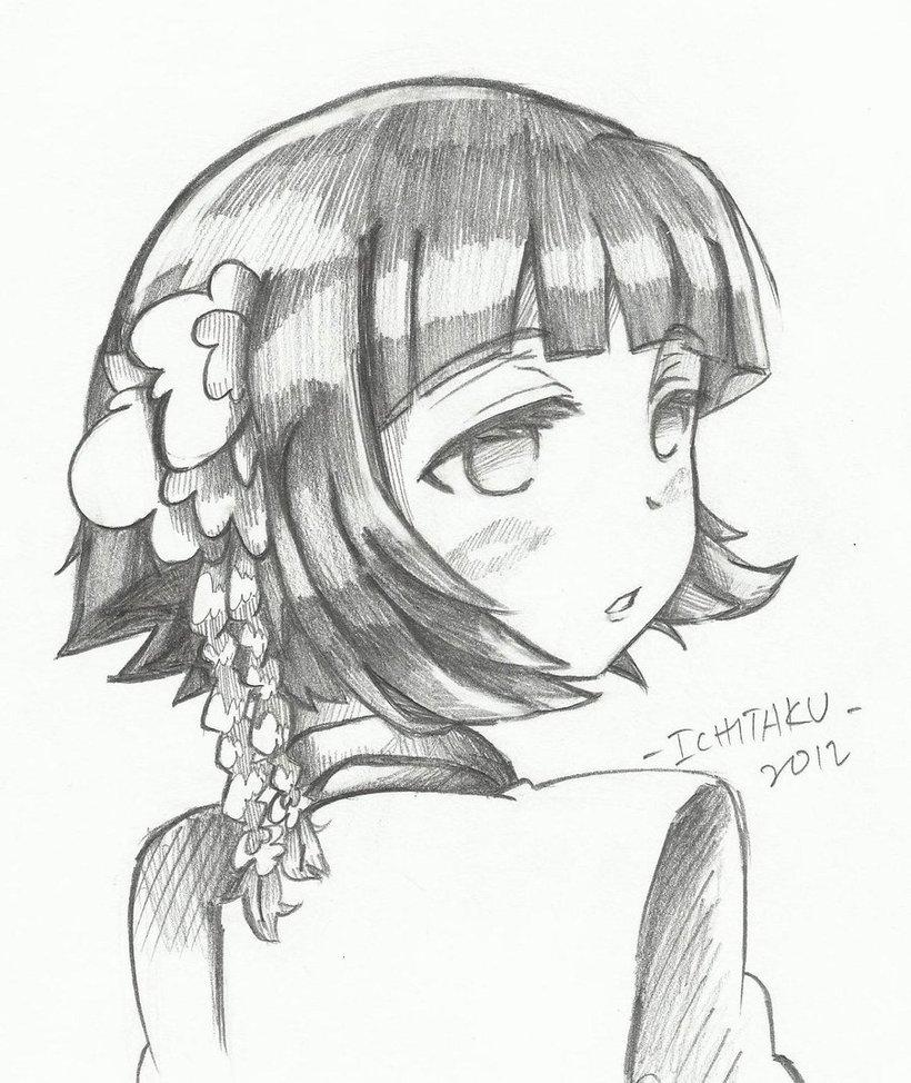 820x974 Lonely Little Girl By Ichitaku Kun