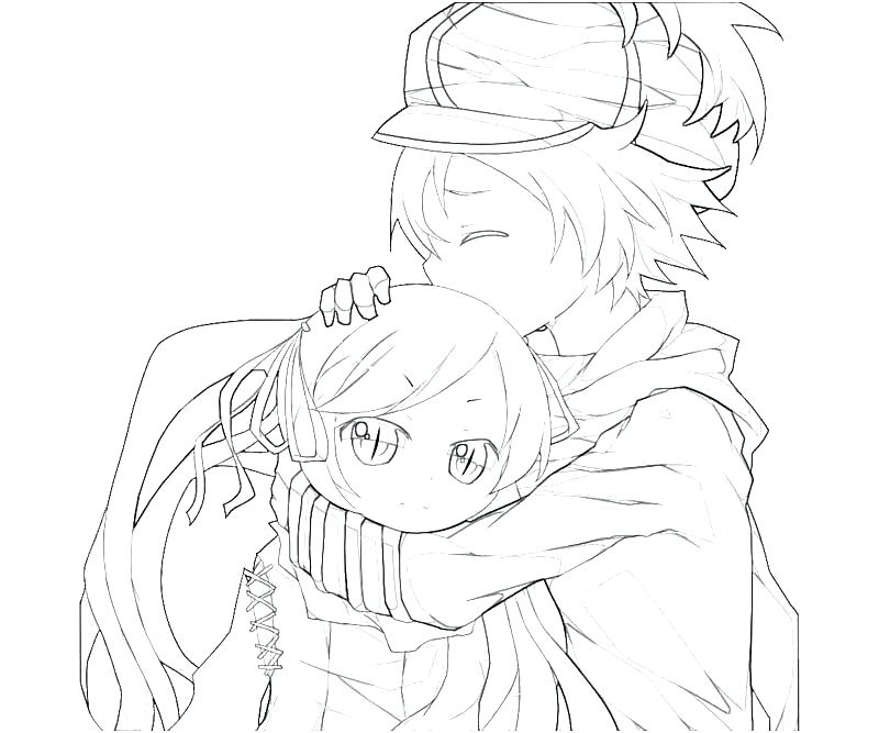 800x667 Best Anime Girl Coloring Pages New Boy And Cute Drawing Little
