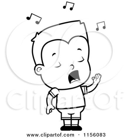 450x470 Awesome Little Boy Cartoon Drawing Singing Drawing Gallery