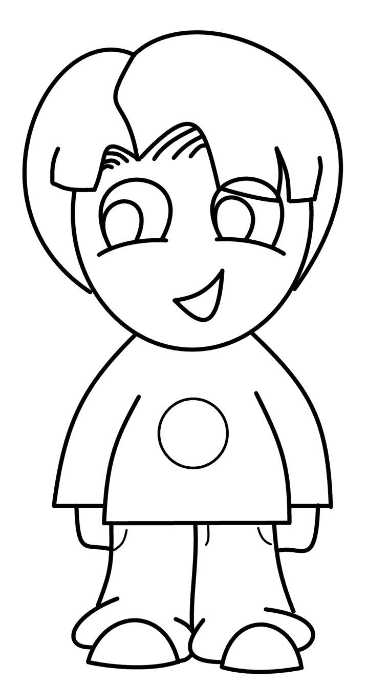 717x1335 How To Draw Cartoons Chibi Boy