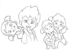 236x171 Little Boy Character Sketches Test For Mercury Filmworks By