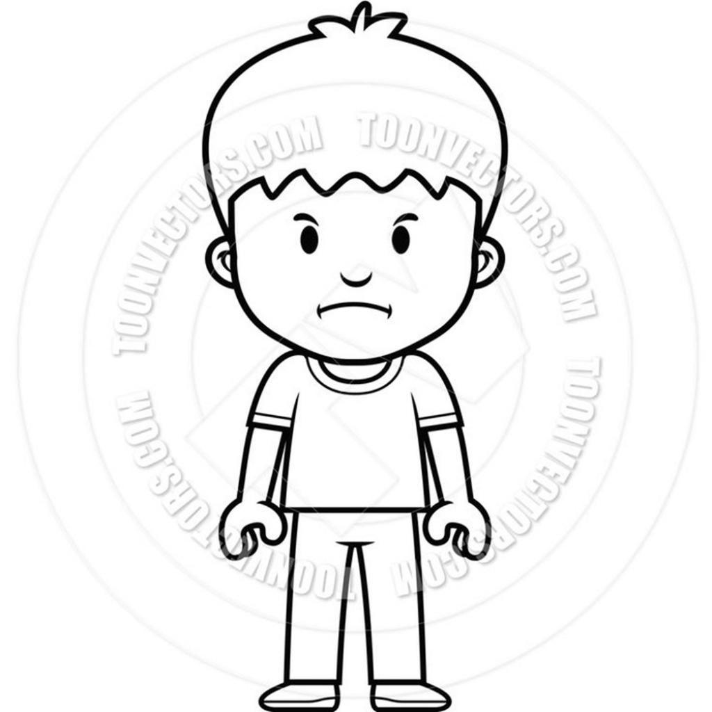 1024x1024 Boy Cartoon Sketch Cartoon Drawing Little Boy Cartoon Drawing