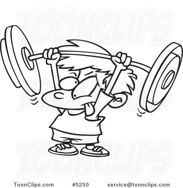 581x600 Cartoon Blacknd White Line Drawing Of Little Boy Lifting
