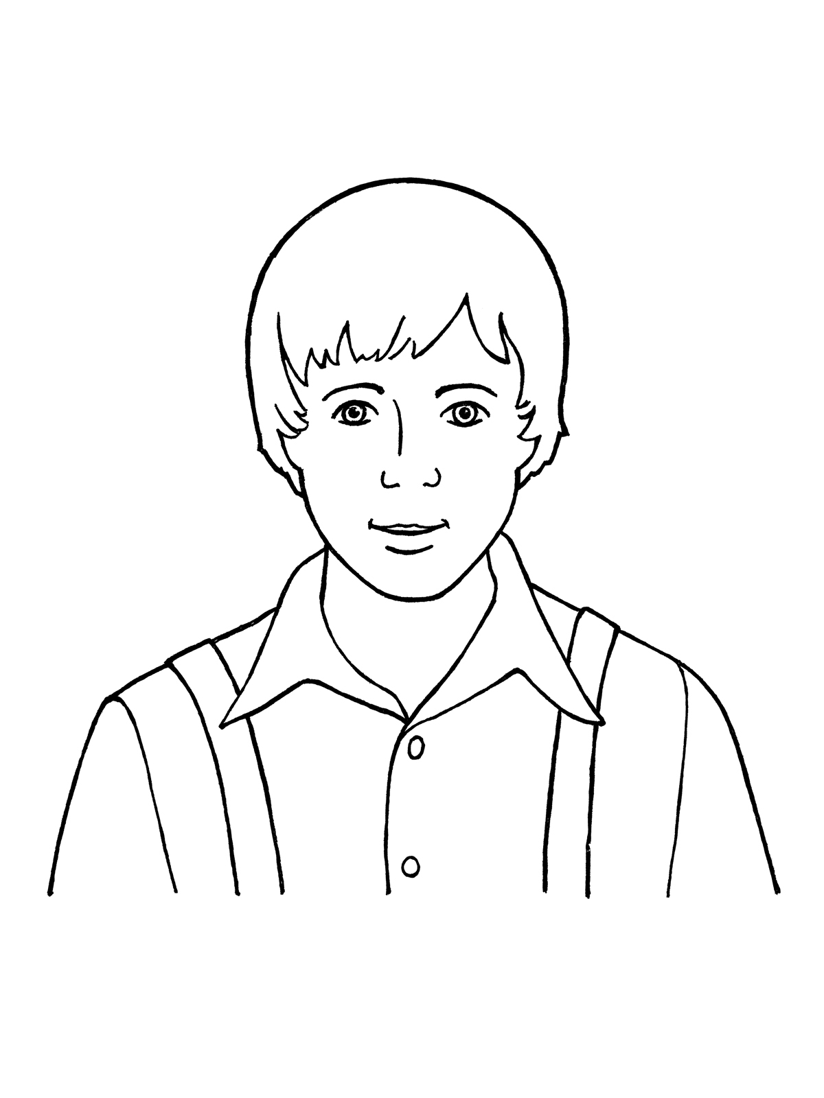 1200x1600 Easy Drawing Of Little Boy Joseph Smith As A Young Boy