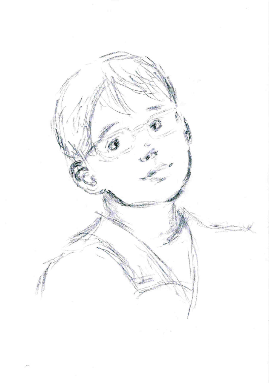 900x1283 Little Boy By Dariakuznetsova