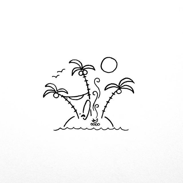 640x640 The Perfect Little Island Drawings Doodles, Draw