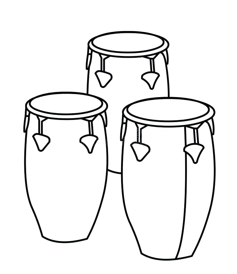 781x900 Drum Coloring Pages Drums Coloring Page Snare Drum Coloring Page