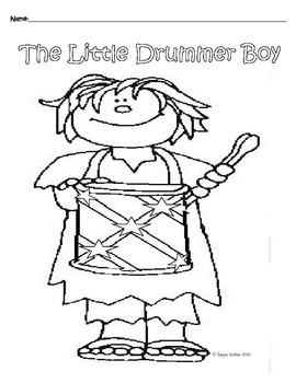 270x350 Drummer Boy Teaching Resources Teachers Pay Teachers
