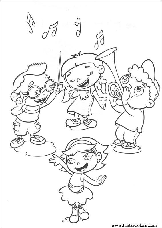567x794 Drawings To Paint Amp Colour Little Einsteins