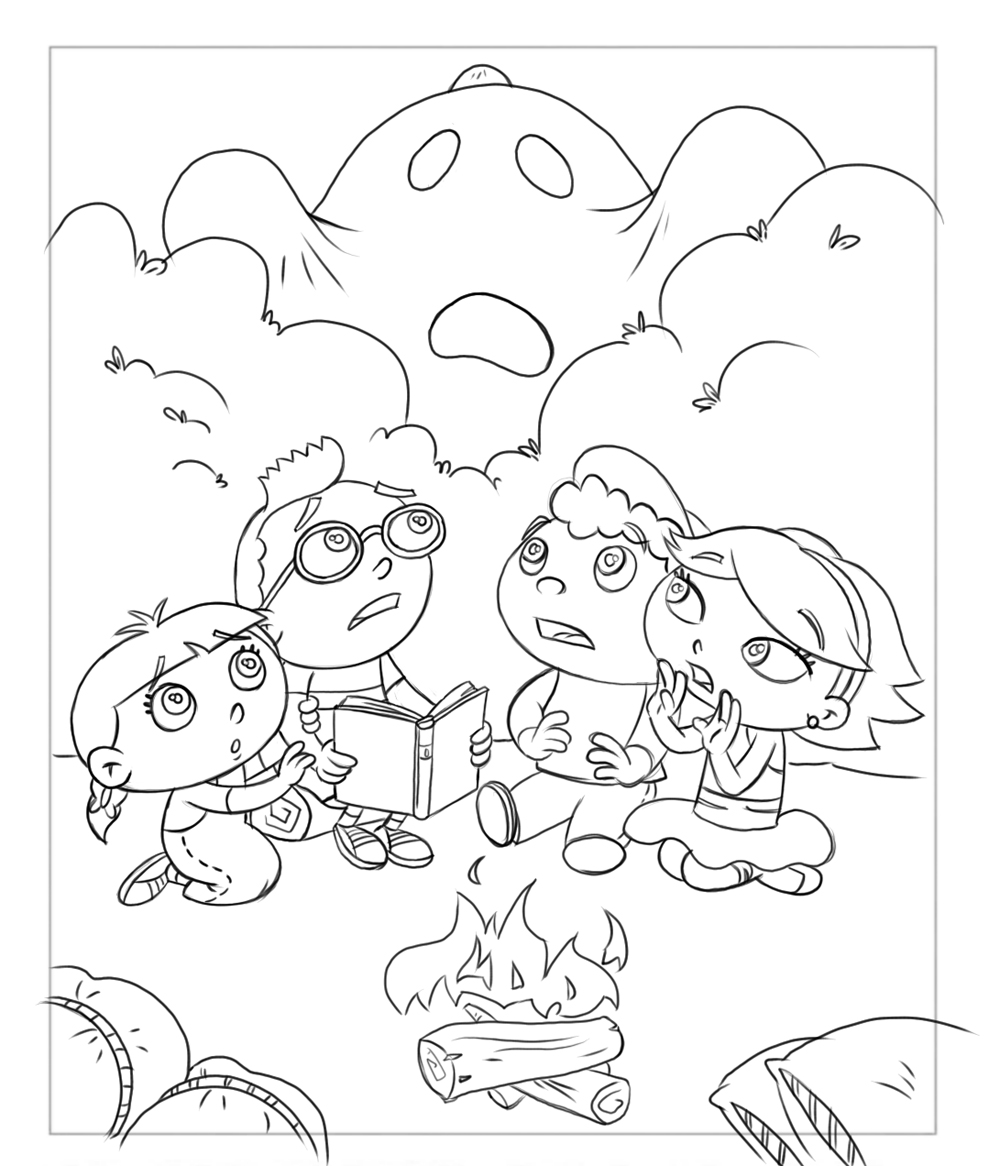 1000x1166 Frank Summers Animation Little Einsteins Coloring Book Drawings.