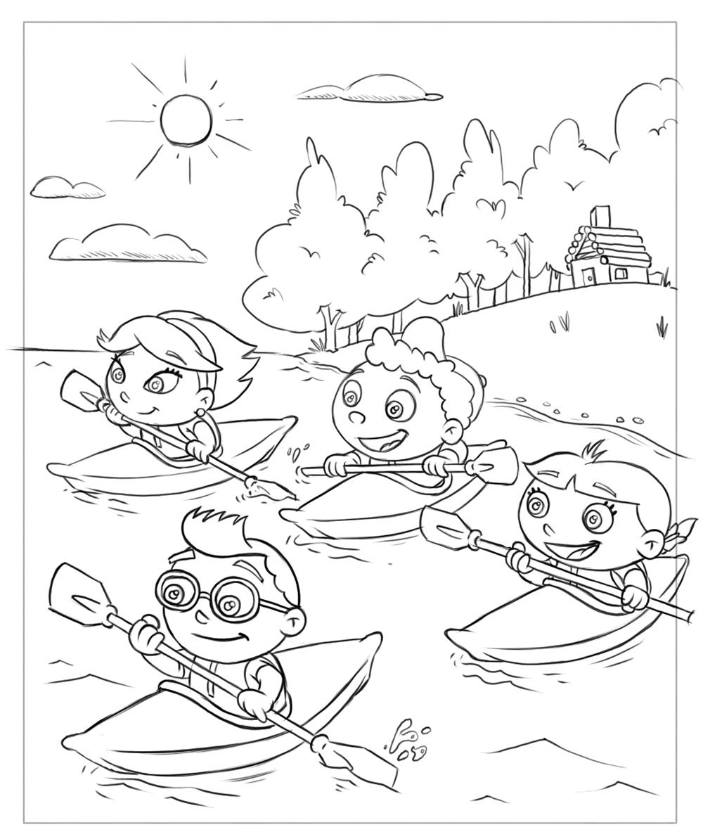 1000x1193 Little Einstein Coloring Pages Printable Einsteins Free General