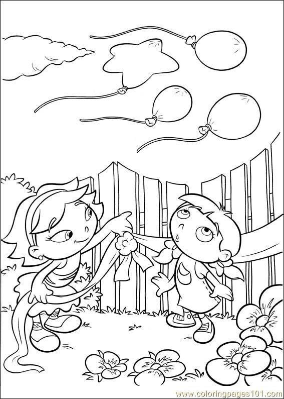 567x794 Little Einsteins 31 Coloring Page