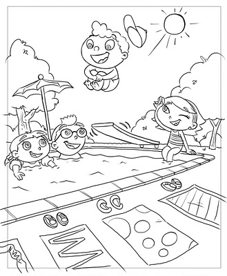 329x400 Little Einsteins Coloring Book Drawings. Frank Summers Church