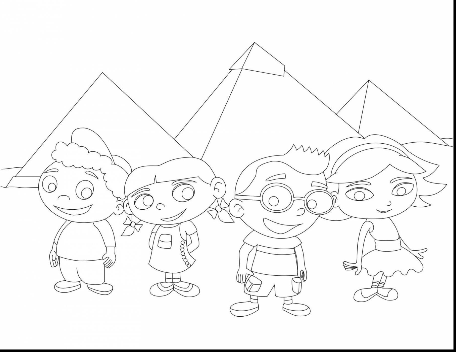 1815x1402 Little Einsteins Coloring Pages For Kids Fresh Little Einsteins