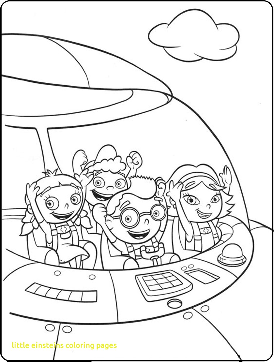 937x1239 Little Einsteins Coloring Pages With Little Einsteins Coloring