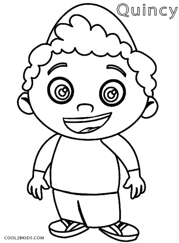 589x800 Printable Little Einsteins Coloring Pages For Kids Cool2bkids