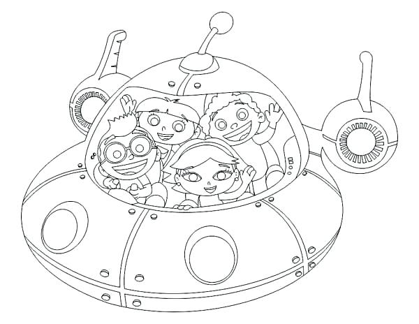 600x464 Awesome Little Einsteins Coloring Pages Fee Going Adventure