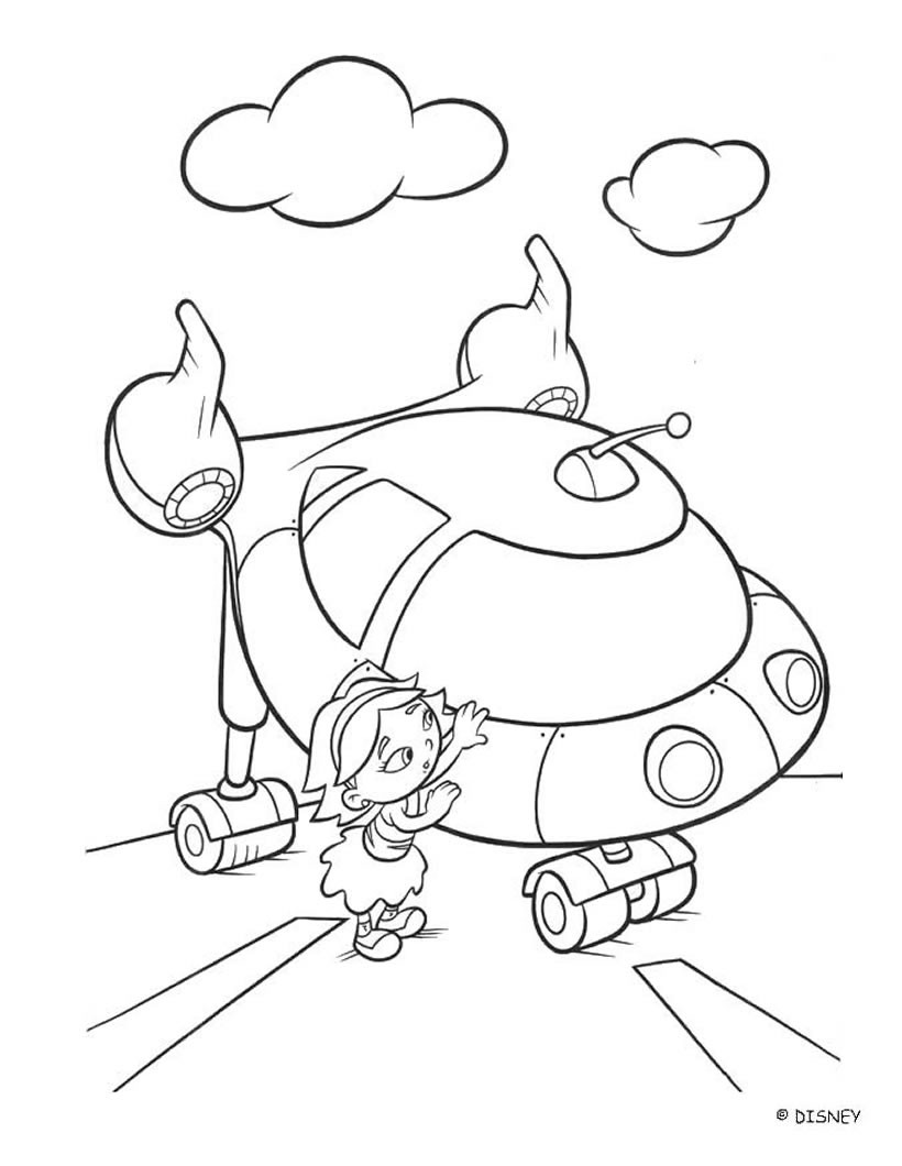 820x1060 Rocket Little Einsteins Coloring Pages