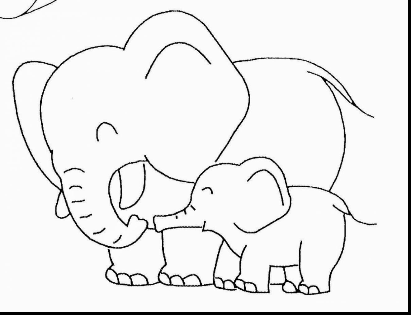 Little Elephant Drawing