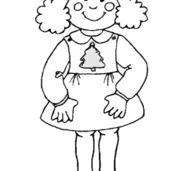 678x600 Girl Cartoon Coloring Pages Little Girl Cartoon Coloring Pages