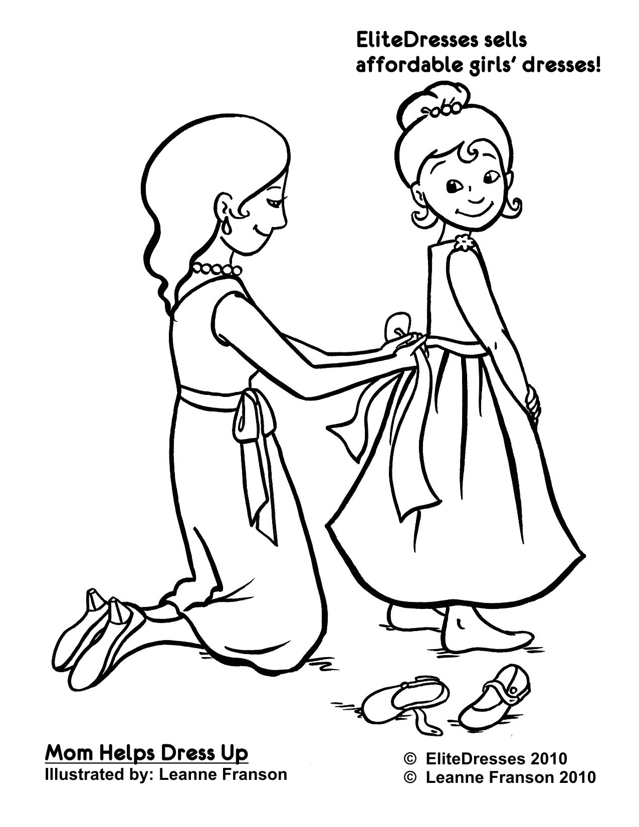 1275x1650 Dressing Coloring Pages