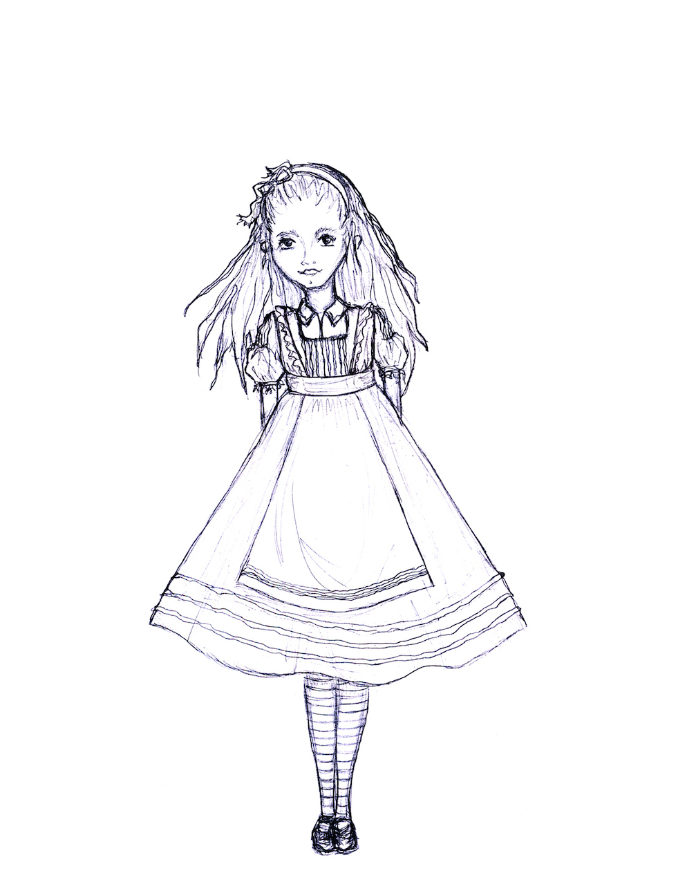 994x1276 Alice In Wonderland Costume Sketches Wonderland Costumes, Alice