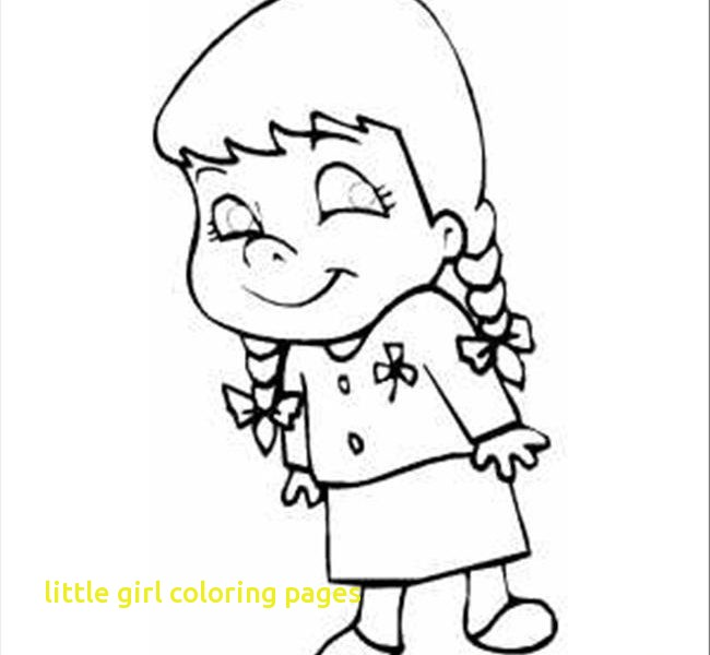 650x600 Little Girl Coloring Pages With Printable Little Girl Coloring