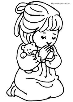 236x329 Children Praying Coloring Page Clipart Panda