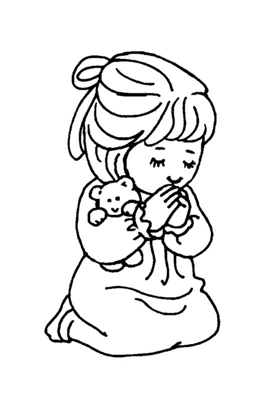 546x800 Young Girl Praying (For E.)