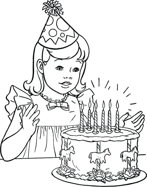 600x762 Coloring Pages Of Little Girls Coloring Pages Girls Omnitutor.co