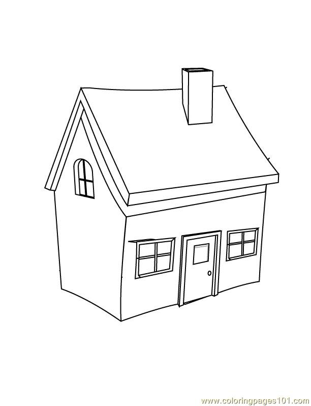 612x798 House Coloring Pages The Sun Flower Pages