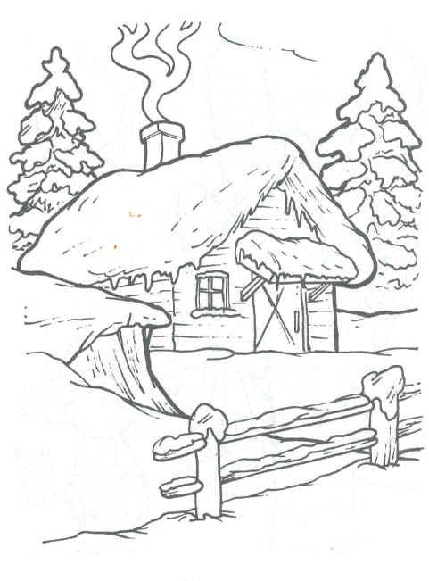 481x651 1131 Best Little House Paintings Drawings Images