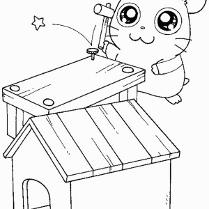 300x300 How To Draw Hamtaro Coloring Pages Bulk Color