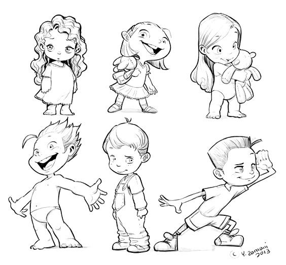 564x523 Pin By Lula Red On Draw Kiddos Character Design