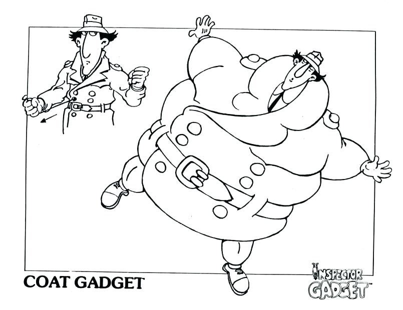 805x620 Inspector Gadget Coloring Pages Twilight Coloring Pages My Little