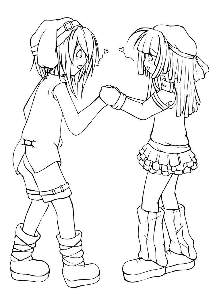 770x1038 Little Kids In Love By Nekotachi